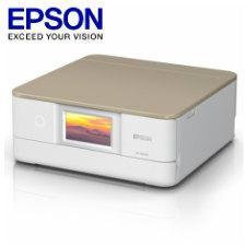 【送料無料】エプソン A4インクジェットプリンター/カラリオ/多機能/6色/有線・無線LAN/Wi-Fi Direct/両面/4.3型ワイドタッチパネル/ニュートラルベージュEP-881AN