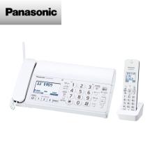 【送料無料】パナソニック おたっくす デジタルコードレス普通紙ファクス(子機1台付き)(ホワイト)KX-PD215DL-W