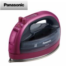 【送料無料】パナソニック コードレススチームアイロン (ピンク)NI-WL705-P