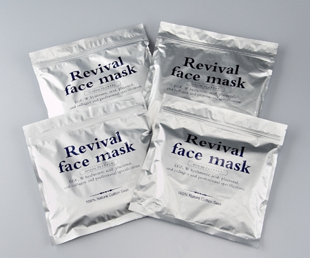 Revival face mask (4 packs) Nippon Television shop (Nippon Television mail order)