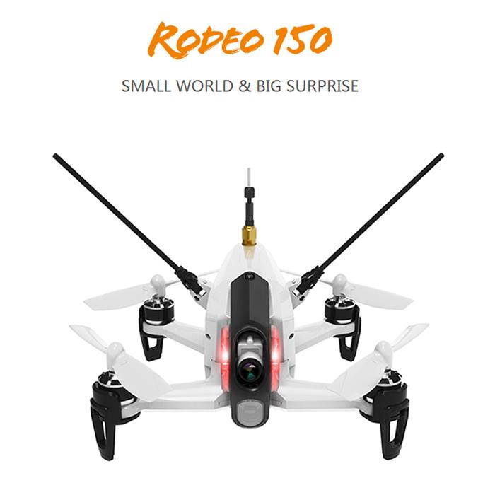 【ラジコン ヘリコプター】WALKERA ワルケラ /Rodeo 150(ロデオ)白 クアッドコプター (DEVO用)機体のみ(カメラ、バッテリー、日本語マニュアル付)充電器は別売り【送料無料】