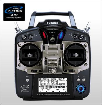 フタバ双葉/ T10J プロポ(送信機)ヘリ用 +受信機 セット【送料無料】