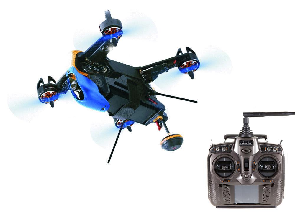 【ラジコン ヘリコプター】WALKERA ワルケラ / F210 3D EDITION レーシング クアッドコプター + DEVO8S送信機(HDカメラ、OSD、バッテリー、日本語マニュアル付)充電器は別売り【送料無料】