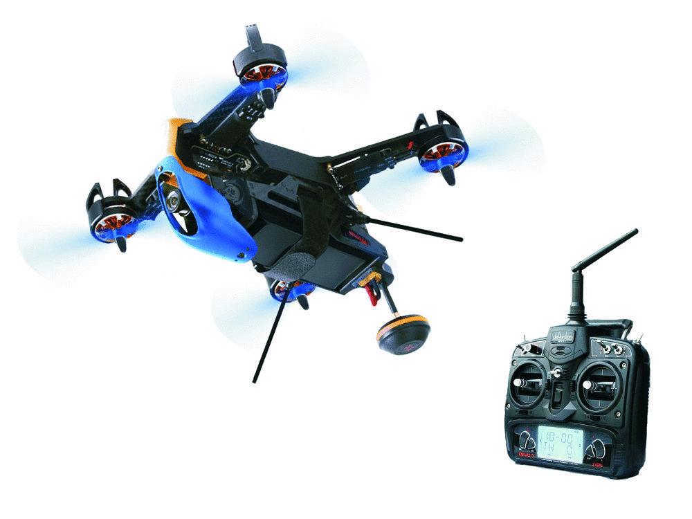 【ラジコン ヘリコプター】WALKERA ワルケラ / F210 3D EDITION レーシング クアッドコプター + DEVO7送信機(HDカメラ、OSD、バッテリー、日本語マニュアル付)充電器は別売り【送料無料】