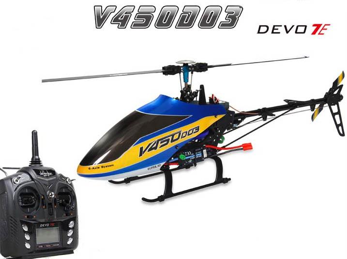 【ラジコン ヘリコプター】WALKERA ワルケラ / V450D03 6CH (DEVO用) + devo7E 送信機 【送料無料】