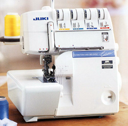 JUKI (ジューキ) コレクション345DC 5本糸カバーステッチ付ロックミシン ★更にソーイングセット付き【送料無料】