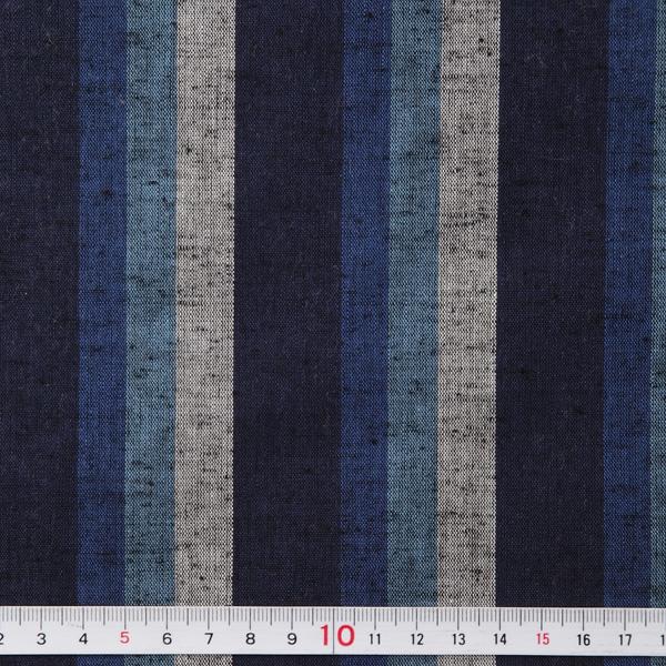 S-10 stripes tsumugi - OMI (aoumi) - cut up for sale