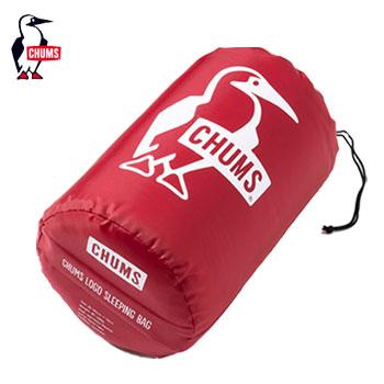 CHUMSチャムスロゴスリーピングバッグ CH09-1147 [チャムス Logo Sleeping Bag アウトドア 寝袋 キャンプ シュラフ ゴルフ]