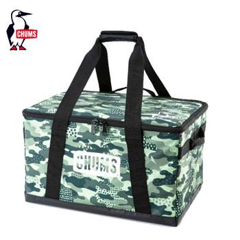 CHUMS フォールダブルボックスM CH62-1353Polka Dots Camo[チャムス Foldable Box M アウトドア キャンプ用品 収納ケース ボックス テント]