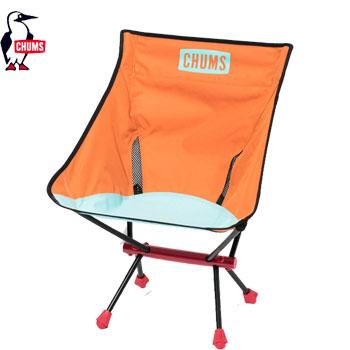 CHUMS フォールディングチェアブービーフットOrange CH62-1170[チャムス Folding Chair Booby Foot  アウトドア キャンプ用品 椅子 チェア ゴルフ]