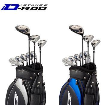 WORKS GOLF クラブセット D-rod ディスタンスロッド9本+キャディバッグ[Golf ワークス フルセット ゴルフ]