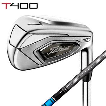 タイトリスト 2020T400 アイアン 5本セット(#7~#P、W43) 日本仕様 Titleist Tensei Blue 50 カーボンシャフト[Titleist IRON 日本製 ゴルフ]