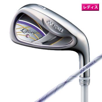 ヨネックス 2020 全商品オープニング価格 フィオーレ 低価格化 レディース アイアンセット ♯7~9 PW SW 日本仕様 FR800 Fiore YONEX IRON カーボンシャフト ゴルフ
