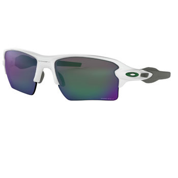 オークリー FLAK 2.0 XL Team Colors サングラスOO9188-9259 Polished White/Prizm Jade【Oakley フラック2.0  プリズム 】
