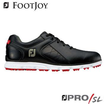 フットジョイ FJ PRO/SL ゴルフシューズ #56845  ブラック [FootJoy Golf Shoes]