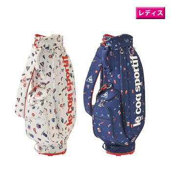 ルコック 2020ウルトラジャパンキャディバッグ(20SS) QQCPJJ02 [ le coq sportif bag レディース ゴルフ]