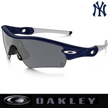 奥克利MLB RADAR PATH New York Yankees太陽眼鏡09-773 Polished Blue/Black Iridium