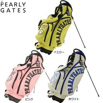 パーリーゲイツ PEARLY GATES NEW ニコちゃん キャディバッグ 053-6980004 スタンドバッグ [パーリーゲイツ Golf ゴルフ ]【あす楽対応】