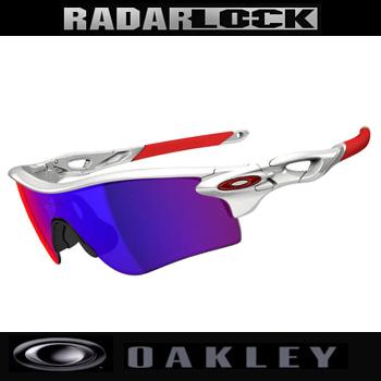 オークリー RADARLOCK PATH (ASIAN FIT) サングラス OO9206-10Polished White/Positive Red Iridium【Oakley レーダーロックパス アジアンフィット イチロー】【あす楽対応】
