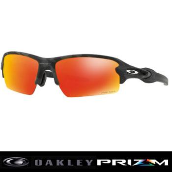 オークリー FLAK 2.0 BLACK CAMO COLLECTION (ASIA FIT) サングラスOO9271-2761【Oakley プリズム フラック ブラックカモコレクション】