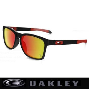 オークリー CATALYST Ferrari COLLECTION サングラス OO9272-07Matte Black/Ruby Iridium【Oakley カタリスト フェラーリコレクション】