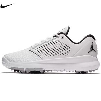 quality design 524f7 36efc Nike 2018 Jordan trainer ST G golf shoes AH7747-100 white   wolf gray    riff lek tosyl bar   black  NIKE JORDAN TRAINER ST G