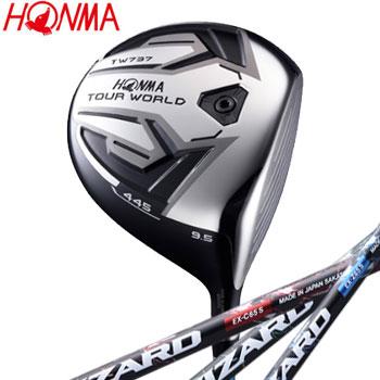 本間ゴルフ TOUR WORLDTW737 445ドライバー 日本仕様 VIZARD EX カーボンシャフト [HONMA GOLF ホンマ DRIVER ツアーワールド]