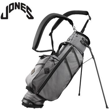ジョーンズ 2018 UTILITY STAND BAG - DARK GRAY/BLACK US仕様 [Jones Golf Bags ユーティリティ スタンド バッグ キャディバッグ スレート]【あす楽対応】