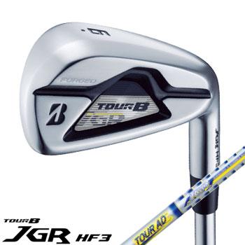 ブリヂストン 2019TOUR B JGR HF3 アイアン 5本セット(#6〜9、PW) 日本仕様 TOUR AD for JGR TG2-IR カーボンシャフト [Bridgestone IRON ゴルフ]