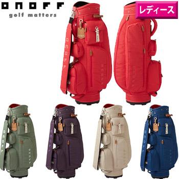 土日祝も発送 オノフ 2020 春の新作シューズ満載 ONOFF レディース キャディバッグOB0720 8.5型 2.5kg 日本仕様 Caddie 卸直営 女性用 Bag カートバッグ