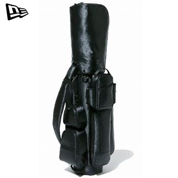 ニューエラ 2020キャディーバッグ ブラック × ブラック [ベーシックポーチ付き] 12325925【NEWERA Caddie Bag カートバッグ GOLF】