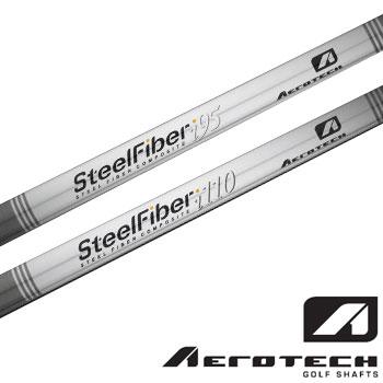 AEROTECH 2015 SteelFiber アイアン用  シャフト 4-PW 7本 i95 / i110 US仕様 シャフト 単体 [エアロテック スチールファイバー]