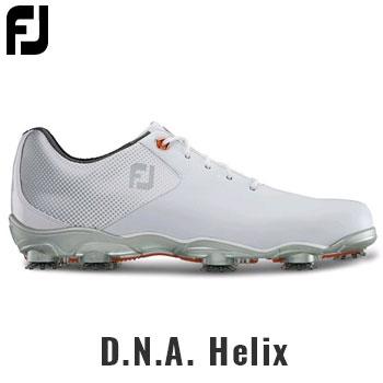 フットジョイ 2017 D.N.A. Helix シューズ US仕様 #53316 WHITE / SILVER [FootJoy DNA へリックス ゴルフ]