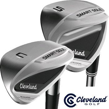 クリーブランド 2017 NEW スマートソール 3C ウェッジ/スマートソール 3S ウェッジ US仕様 スチールシャフト [cleveland  NEW SMART SOLE 3 SW サンドウェッジ チッパー ゴルフ]