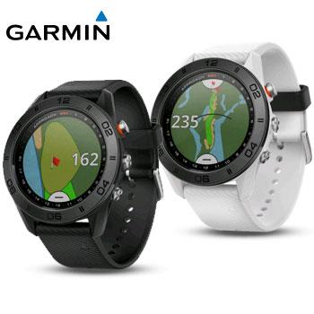 GARMIN 2018 Approach S60 GPSゴルフウォッチ 日本正規品 [ガーミン ゴルフ アプローチ ブラック ホワイト 010-01702-20]