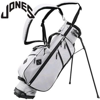 ジョーンズ 2018 UTILITY STAND BAG - LIGHT GRAY/BLACK US仕様 [Jones Golf Bags ユーティリティ スタンド バッグ キャディバッグ]