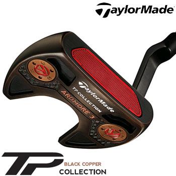 テーラーメイド 2018 TP Black Copper Collection Ardmore3 パター US仕様 スーパーストローク PISTOL GT1.0 WHITE/COPPER グリップ [Taylormade TP ブラック コレクション アドモア3]