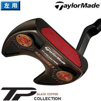 テーラーメイド 2018 TP Black Copper Collection Ardmore3 パター 左用 US仕様 スーパーストローク PISTOL GT1.0 WHITE/COPPER グリップ [Taylormade TP ブラック コレクション アドモア3 LH レフティ]