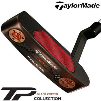 テーラーメイド 2018 TP Black Copper Collection Juno パター US仕様 スーパーストローク PISTOL GT1.0 WHITE/COPPER グリップ [Taylormade TP ブラック コレクション ジュノー ピンタイプ]