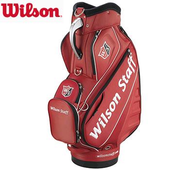 ウィルソン Wilson Staff Pro Tour Staff Bag US仕様 WGB4100RD  [Wilson スタッフ バッグ キャディバッグ]
