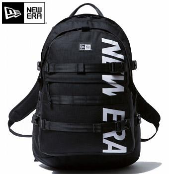ニューエラ 2018キャリアパック プリントロゴ ブラック × ホワイト 11783327 【NEWERA GOLF バッグ リュック】【あす楽対応】