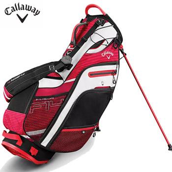 キャロウェイ 2019 FUSION 14 STAND BAG RED/BLACK/WHITE US仕様 [Callaway フュージョン 14分割 キャディバッグ スタンドバッグ ゴルフ]