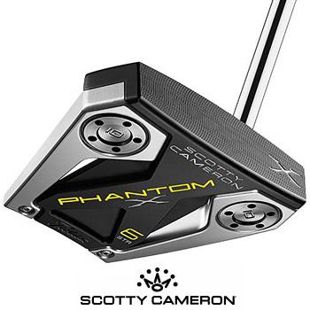 スコッティキャメロン 2019 PHANTOM X 6 STR パター US仕様 [SCOTTY CAMERON マレット ファントムX 6 STR ストレートシャフト]