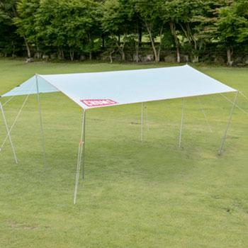 CHUMSチャムスロゴスクエアタープ CH62-1078 [チャムス Logo Square Tarp ゴルフ]