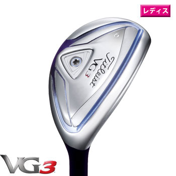 タイトリスト 2016 VG3 レディース ユーティリティ 日本仕様 タイトリスト VGF カーボンシャフト[Titleist Utility Golf ゴルフ Women]