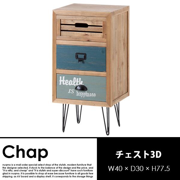 アメリカンビンテージ Chap【チャップ】チェスト3D 送料無料(北海道除く・沖縄・離島配送不可)【代引不可】