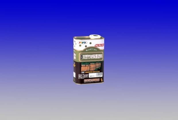 竹の風合いを損なわない美しい仕上げ 油性 天然竹材保護塗料 1L お得セット 豪華な - アサヒペン
