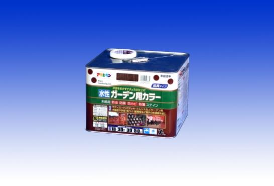 期間限定特別価格 ☆木目を生かすナチュラル仕上げ☆ 水性 即納送料無料 ガーデン用カラー アサヒペン - 7L