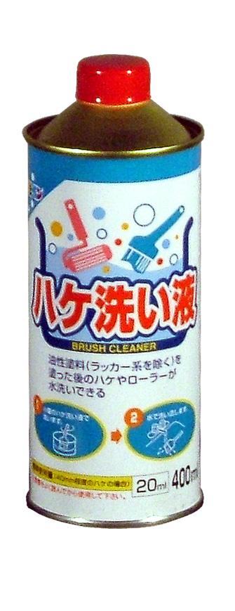 ☆ペイントうすめ液でうすめる塗料を塗ったあとのハケの洗浄に☆ ハケ洗い液 400mL 最安値挑戦 アサヒペン 舗 -