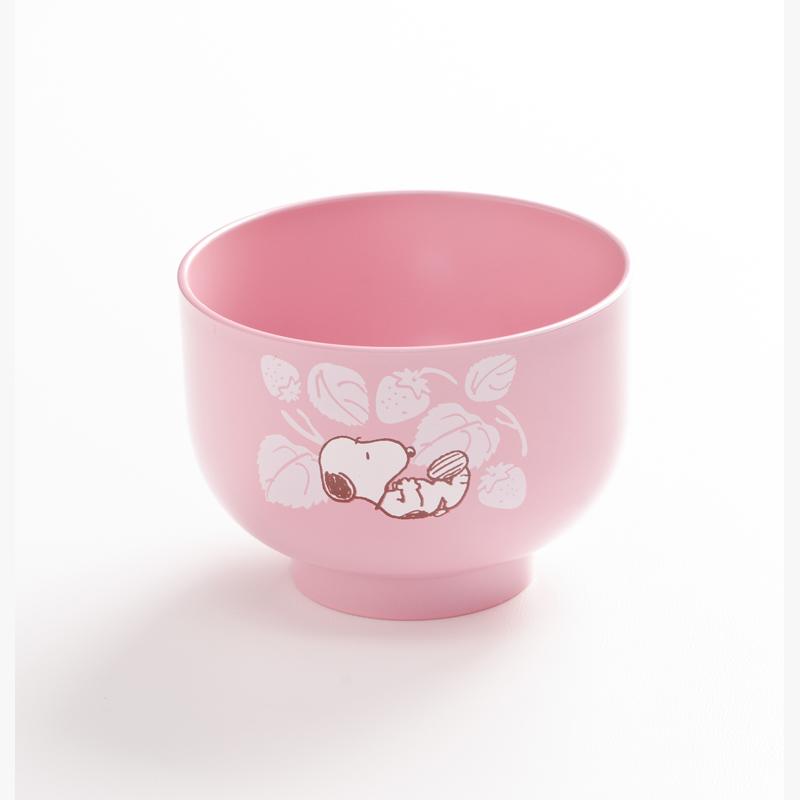 パステルカラーの優しい色づかい スヌーピー 代引き不可 汁椀 ピンク お椀 おわん 食器 プレゼントにも Japan 人気海外一番 贈り物 キャラクター in Made